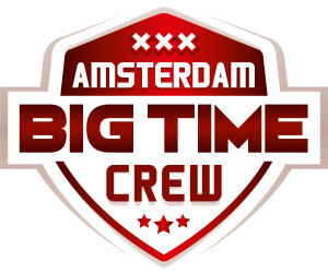 Logo Amsterdam Big Time Crew rood